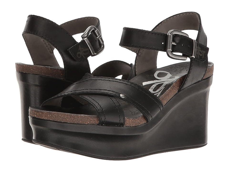 7d95b844497 OTBT Bee Cave (Black) Women s Wedge Shoes