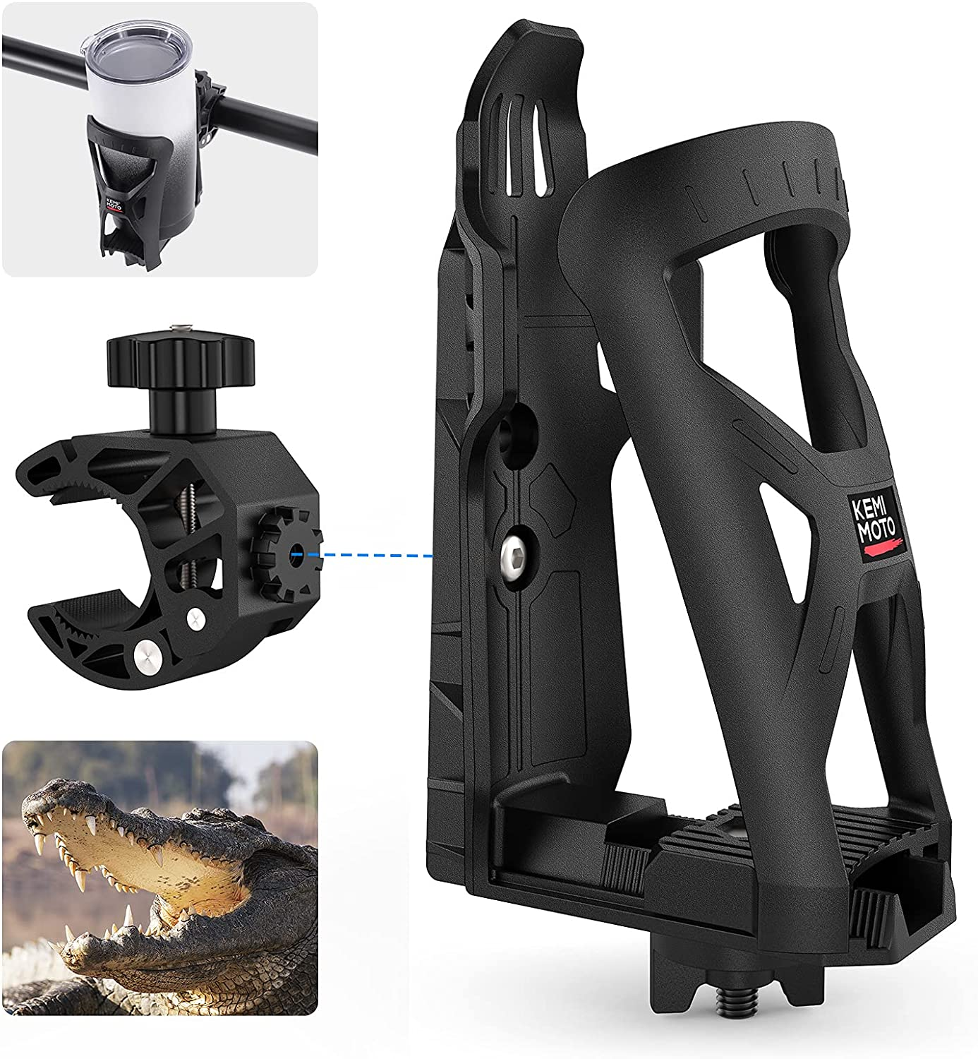 Bike Cup Holder kemimoto for w 360 Motorcycle Rotati Super mart beauty product restock quality top