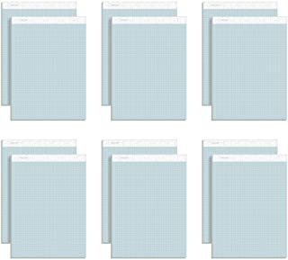 TOPS 76581 Prism Quadrille Perforated Pads, 8 1/2 x 11 3/4, Blue, 50 Sheets (Pack of 12)