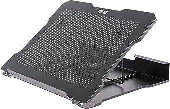 Allsop ALS32147 Metal Art Adjustable Laptop Stand, Black