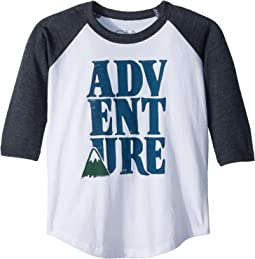 Chaser Kids - Vintage Jersey Adventure Raglan Tee (Little Kids/Big Kids)