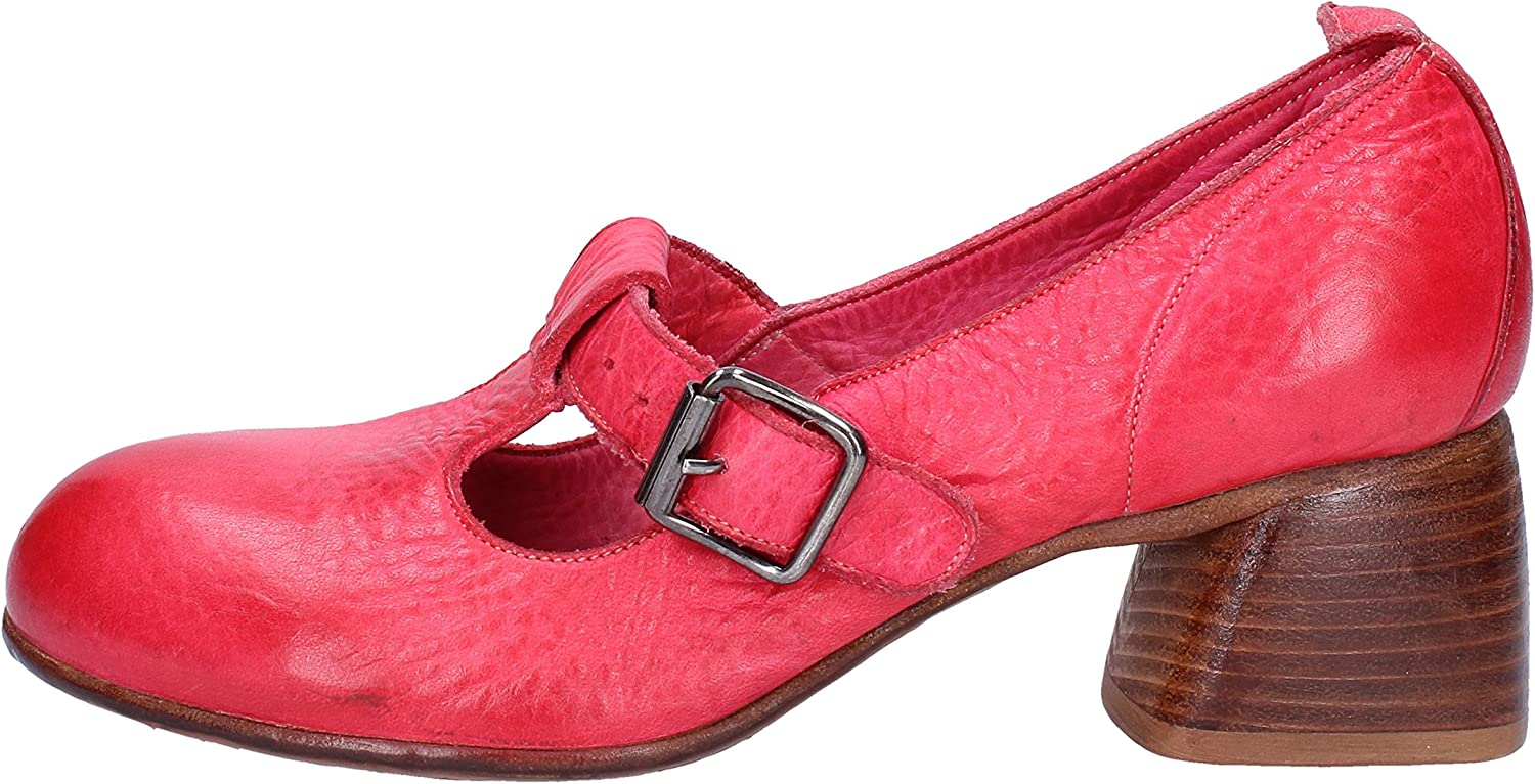 MOMA Pumps-shoes Womens Leather Red