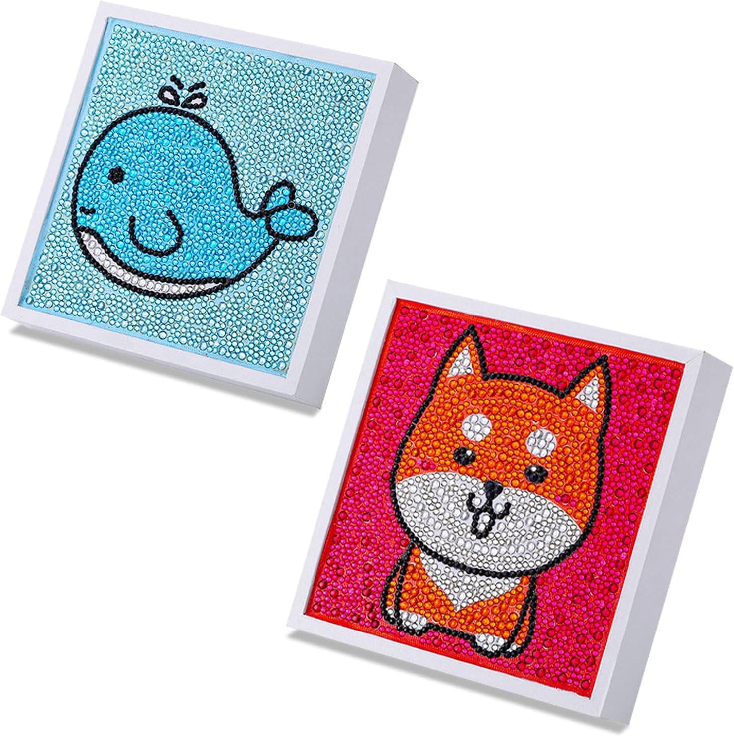 julycofe 2 Max 87% OFF Pack Funny DIY Mosaic Craft 6x6'' 5d - Brilliant Kits New Shipping Free
