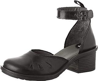 428d8dc65f Fly London Cemi434fly, Zapatos con Tacon y Correa de Tobillo para Mujer