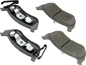 ACDelco 14D981CH Advantage Ceramic Rear Disc Brake Pad Set
