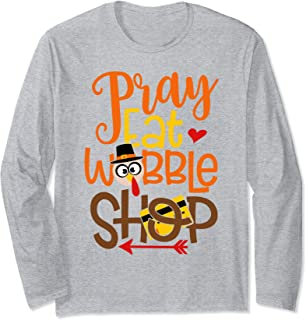 pray eat wobble shop