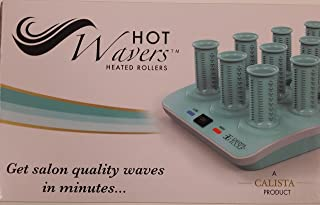 HOT Wavers Short Heated Rollers, 122 Short Ion Rollers