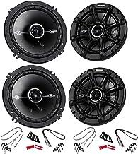 """KICKER 4 41DSC654 D-Series 6.5"""" 480 Watt 2-Way 4-Ohm Car Audio Coaxial Speakers photo"""