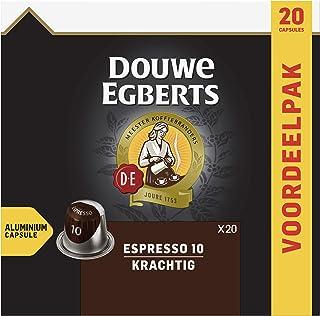 Douwe Egberts Koffiecups Espresso Krachtig Voordeelverpakking (200 Koffie Capsules, Geschikt voor Nespresso* Koffiemachine...