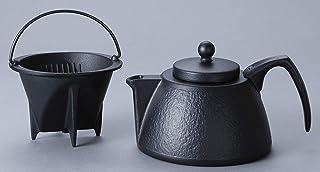 岩鋳 Iwachu コーヒーポットセット ブラック 0.75L IH対応 南部鉄器 12361