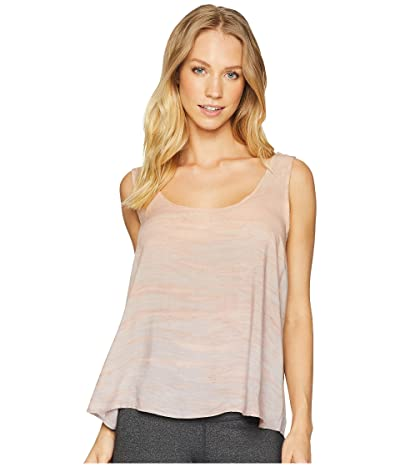 Hard Tail Crop Tank (Rainbow Horizon 72) Women