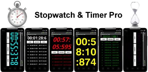 『ストップウォッチ & タイマー Pro』のトップ画像