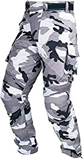 Juicy Trendz Men's Textile Camo Trouser Motorcycle Armour Biker Motorbike Waterproof Camo