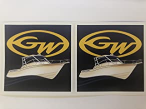 2 Grady White w/Boat Decals by SBDdecals.com