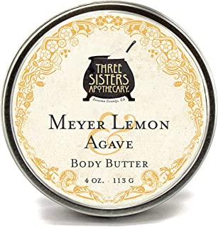 Three Sisters Apothecary Body Butter Meyer Lemon & Agave