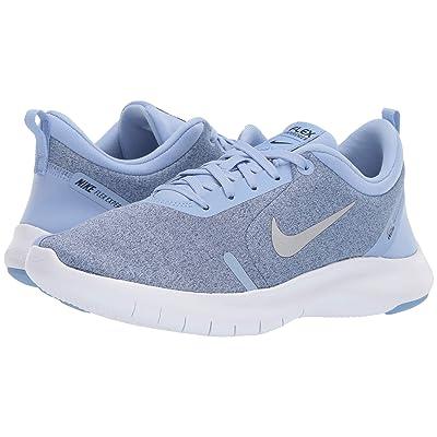 Nike Flex Experience RN 8 (Aluminum/Metallic Silver/Blue Void/White) Women