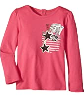 Little Marc Jacobs - Trompe L'Oeil Long Sleeve T-Shirt (Toddler)