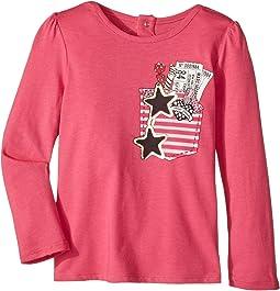 Little Marc Jacobs - Trompe L'Oeil Long Sleeve T-Shirt (Toddler)