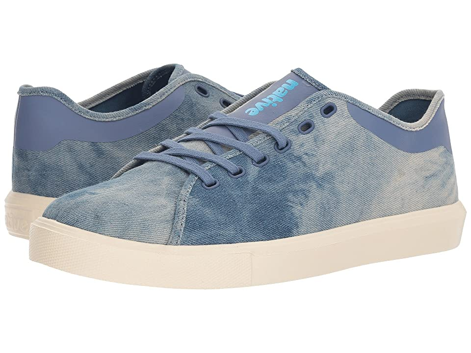 Native Shoes Monte Carlo Denim (Acid Wash/Bone White) Shoes