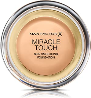 Max Factor Miracle Touch, Compact Foundation, Liquid Illusion, 75 Golden, 11.5 g