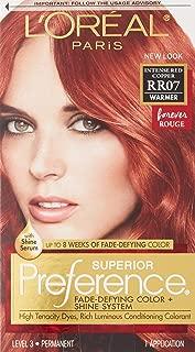L'Oreal Superior Preference, RR07 Intense Red Copper Warmer 1 ea