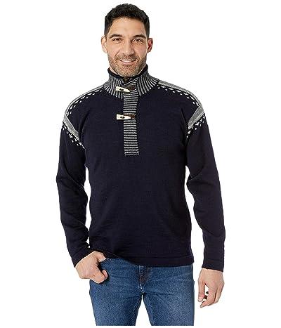 Dale of Norway Skog Sweater (C-Navy/Light Charcoal/Smoke) Men