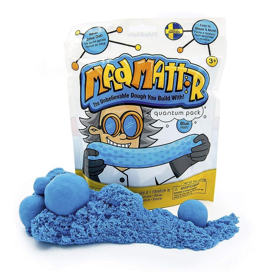 Mad Mattr Super-Soft Modelling Dough Compound that Never Dries Out, 10 Ounces, Blue