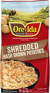 Ore-Ida Shredded Frozen Hash Browns (30 oz Bag)
