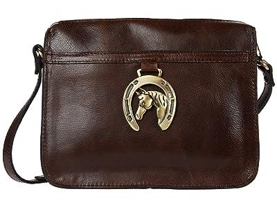 Patricia Nash Nazaire w/ Horse Shoe (Chocolate) Handbags
