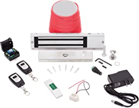 Electric Magnetic Lock 600lbs. and Wireless Remote System : Standard Buzz In Lock Kit : By TOLEDO