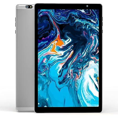 VUCATIMES N20 タブレット10.1インチ Android 10 RAM3GB/ROM64GB 8コアCPU 1920x1200 IPSディスプレイ 2.4G-5G Wi-Fiモデル Bluetooth 5.0 GPS FM 金属ボディ (グレー)