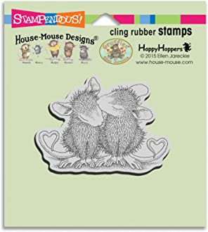House Mouse Cling Stamp  DUCKY NAP   HMCP58 Easter Duck Swimming Sleeping