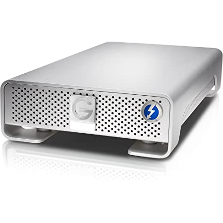 G-Technology (HGST) G-DRIVE with Thunderbolt 6TB USB3.0対応 外付けハードディスク 【3年保証】0G04026AZ
