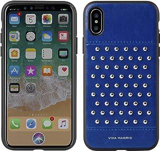 غطاء فيفا مدريد ناتو خلفي لآي فون X - أزرق