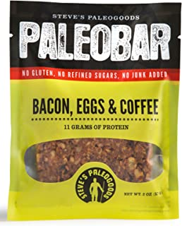 Steve's PaleoGoods, PaleoBar Bacon Eggs & Coffee, 2 oz (Pack of 3)