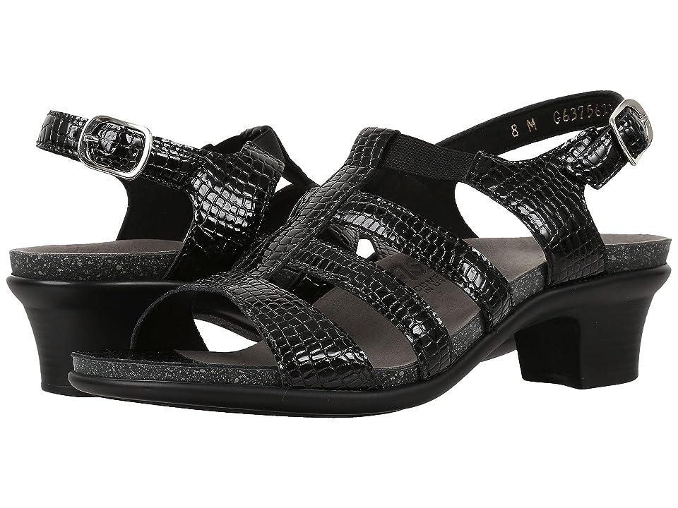 SAS Allegro (Black Croc) Women