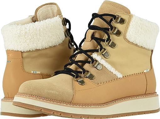 Waterproof Desert Tan Suede/Leather