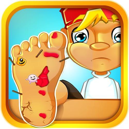 Scary Foot Injury - Boy's Clinic