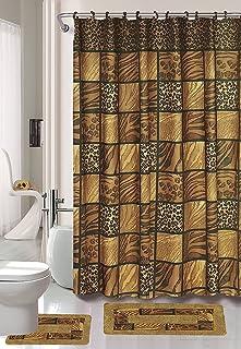 amazon com stainless steel bathroom accessory sets bathroom rh amazon com  animal print bath towel sets