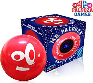 DRINK-A-PALOOZA Party Ball: Fun Drinking Games for Adults & Party Game Nights, Bachelor / Bachelorette Parties, Tailgating & Camping Games