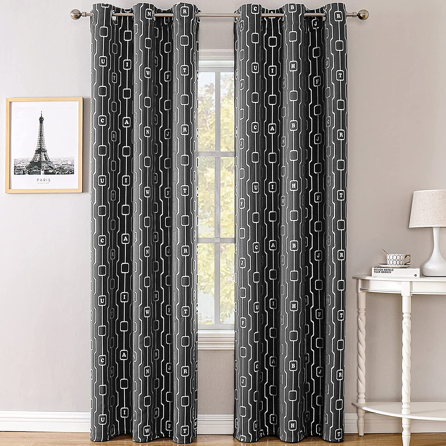 BUHUA Choice Blackout Curtains Outlet SALE for Dr Room Bedroom Darkening