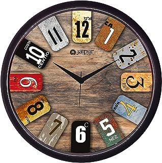 JaipurCrafts Plastic Antique Wall Clock (Multicolour, 2 X 12 X 12 Inch)