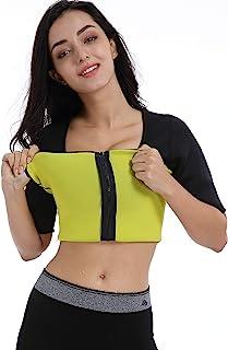 Valentina Womens Hot Thermo Shaper T Shirt, Neoprene Slimming Bodysuit, Workout Sweat Sauna Suit, Body Fat Burner, Best Ex...