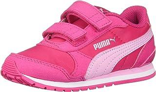 PUMA Unisex-Kids' St Runner Velcro Sneaker