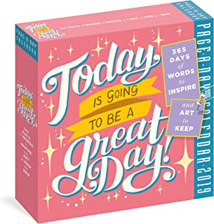 Today Is Going to Be a Great Day! Page-A-Day Calendar 2019