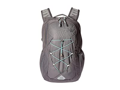 The North Face Jester Backpack (Zinc Grey/Windmill Blue) Backpack Bags
