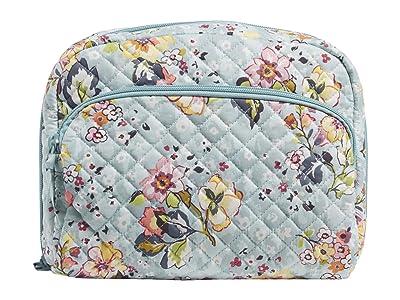 Vera Bradley Lay Flat Cosmetic (Floating Garden) Handbags