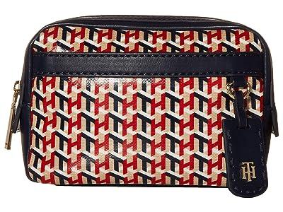 Tommy Hilfiger Julia Belt Bag (Navy/Multi) Cross Body Handbags