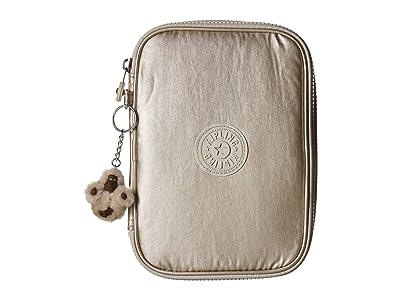 Kipling 100 Pens Large Case (Cloud Grey Metallic) Bags