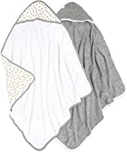 Burt's Bees Baby – Hooded Towels, Absorbent Knit Terry, Super Soft Single Ply,..